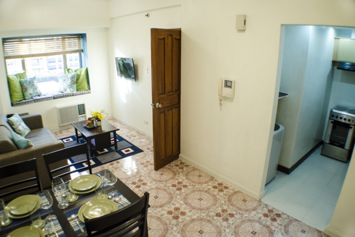 1BR Fully Furnished For Sale in Greenbelt Parkplace