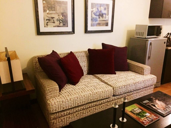 1 BR Fully Furnished FOR RENT at San LOrenzo PLace